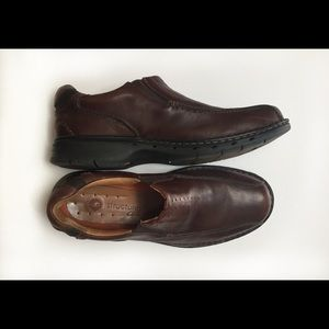 Clarks Unstructured men's slip on loafers